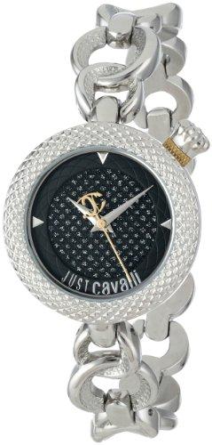 Just Cavalli Damen-Armbanduhr Lily Analog Quarz Edelstahl R7253137625