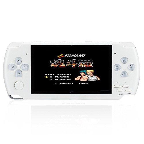 console di gioco portatile di 8GB, 4,3pollici con 1000giochi classici GBA, Video di sostegno e musica, Fotocamera 3M integrata