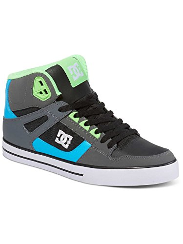 DC Universe Spartan High Wc, Baskets Basses Homme Grey/Green/Blue