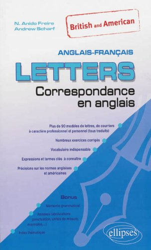Letters British and American Correspondance en Anglais