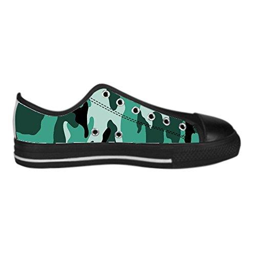 Dalliy tarnung Men's Canvas shoes Schuhe Lace-up High-top Sneakers Segeltuchschuhe Leinwand-Schuh-Turnschuhe E