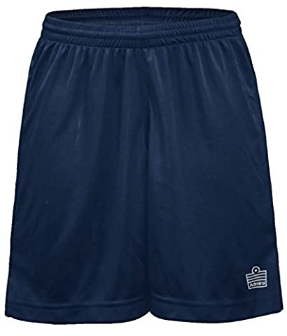 Admiral Club Ready-to-Play Women's Soccer Shorts, Navy/White,