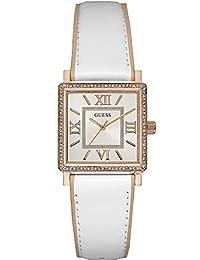 425e3ea29714 Guess Reloj Analogico para Mujer de Cuarzo con Correa en Cuero W0829L11