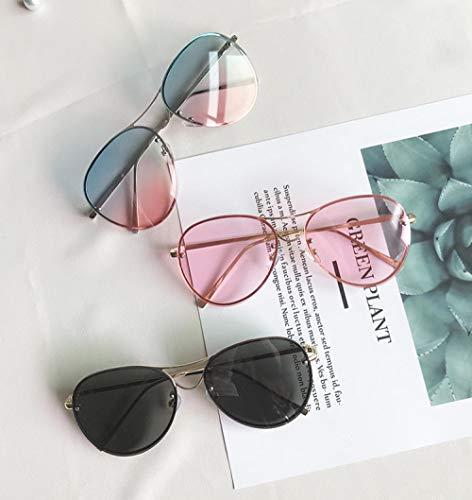 Sonnenbrille big box männer und frauen reiten fahren quecksilber reflektierende mode frosch spiegel transparent rosa nachtsicht spiegel sonnenbrille 2