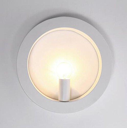 Lampe Murale Moderne Simple Lampe De Chevet De La Chambre De Fer,Round