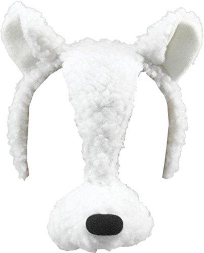 Ausgefallen Party Zubehör Wildtiere Animal Buch Woche Kostüm Gesichtsmaske Mit Ton - Lamm