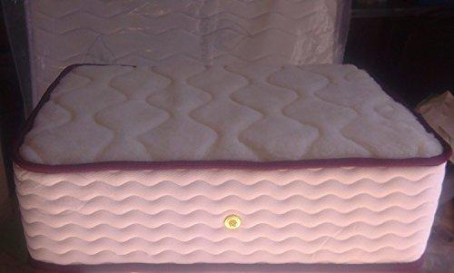 Angebot2013 |  Eliocel Anatomic Orthopaedic Matratze Mit Merinowolle |  2 Seiten - Winter (Merinowolle) - Sommer (extra atmungsaktives Piquetgewebe) Abstand Letzte Einheiten |  (135 x 190)