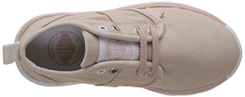 Palladium Pallaville, Sneakers Basses Mixte Enfant Rose (Rose Dust/white)