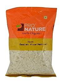 Pro Nature Organic Poha - Medium, 250g Pouch