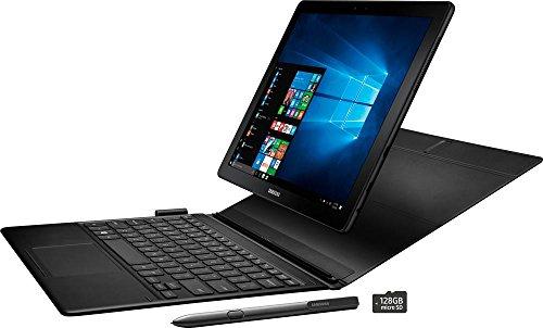 Samsung Galaxy book SM-W720NTKBXAR Laptop (Windows 10, 4GB RAM, 128GB HDD) Black Price in India