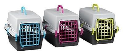 Shine Pet Cat Kitten Dog Rabbit Carrier Kennel Foldable Travel Transport Cage Vet