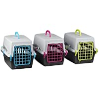 Shine, trasportino per Animali Domestici, Cuccia Pieghevole da Viaggio per Cani, Gatti e Conigli, gabbietta per Viaggi dal Veterinario