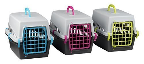 Pet-Cat-Kitten-Dog-Rabbit-Carrier-Kennel-Foldable-Travel-Transport-Cage-Vet