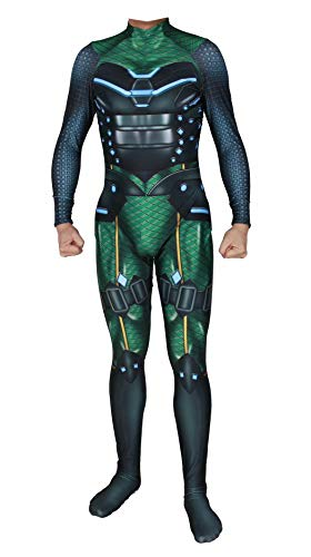 Learplay Spider Overall Mysterio Jumpsuit Far from Home Quentin Beck Cosplay Outfit Halloween - Marvel Mysterio Kostüm