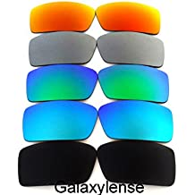 34fe0eb4537f8 Galaxylense Lentilles de remplacement pour Oakley Gascan Petit Blck pour  hommes ou femmes
