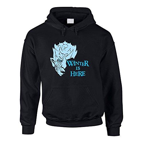 Shirtdepartment Game of Thrones - Winter is here - Herren Hoodie - von SHIRT DEPARTMENT, XS, ()