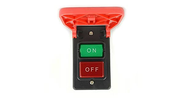 220V Push Button Part # SW56 Switch For Large Table Saw Models 12A