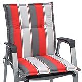 Beautissu Niedriglehner Auflage für Gartenstuhl Loft NL Havana 100x50x6 Bequemes Sitzkissen Polsterauflage UV-Lichtecht & weitere Designs