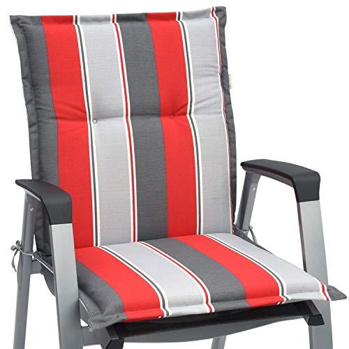 Beautissu Niedriglehner Auflage für Gartenstuhl Loft NL Havana 100x50x6 Bequemes Sitzkissen...