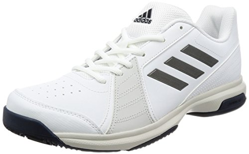 adidas Herren Approach Tennisschuhe, Weiß (Footwear White/Night Metallic/Mystery Ink), 45 1/3 EU