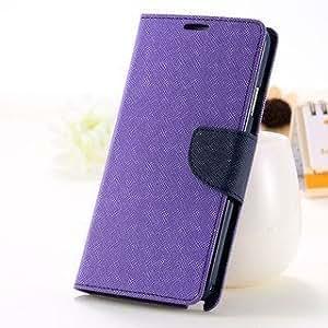 Mokons Fancy Luxury Dairy Case Flip Cover For Oppo Neo 7 - Black