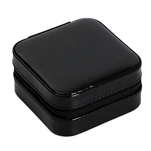 Bolsa de almacenamiento portátil de gran capacidad y bolsa de almacenamiento de cosméticos y aretes de viaje portátil, caja de almacenamiento para pulseras, joyas, organizador, contenedor?