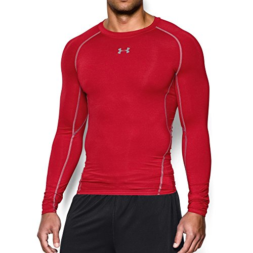 Under Armour Mens HeatGear Ultra Tight Stretchy Long Sleeve T Shirt (Tight-fit Compression Shirt)