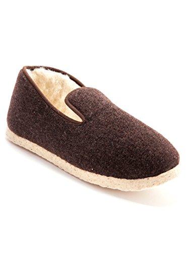 Thermovitex, Pantofole Da Uomo Bianco - Marrone