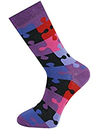 Mysocks® Colourfull Stripe and Design Men Socks with Finest Combed Cotton