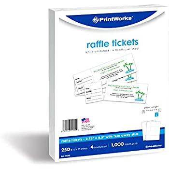 picture regarding Printable Tickets With Stubs known as Avery Blank Printable Tickets, Tear-Absent Stubs, Perforated