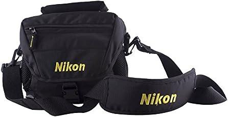 Lavaya® DSLR SHOULDER Camera Bag (Black, Yellow) for Nikon