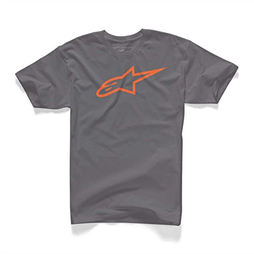 Alpinestars Herren T-Shirt Ageless 1032-72030 - charcoal-orange