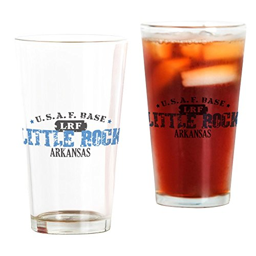CafePress Little Rock Air Force Pint-Glas farblos