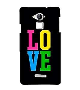 PrintVisa Love Lovely Lover 3D Hard Polycarbonate Designer Back Case Cover for Coolpad Note 3