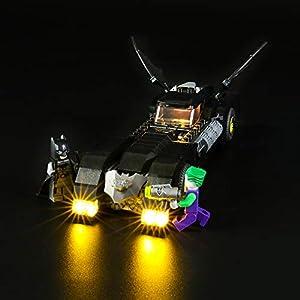 LIGHTAILING Set di Luci per (Super Heroes Batmobile Inseguimento di Joker) Modello da Costruire - Kit Luce LED… 0781621988709 LEGO