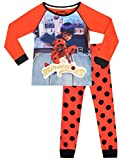 Miraculous Pijamas de Manga Larga para Niñas Ladybug 4-5 Años