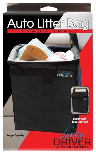 Price comparison product image Luxury Driver 12500 Auto Litter Bag Trash Trap Organizer by Luxury Driver