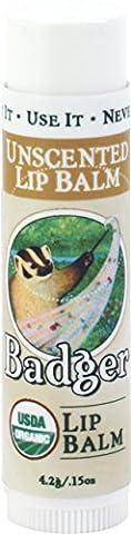 Badger Balm 4.2 g Unscented Lip Care Stick