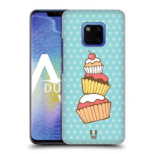 Head Case Designs Stack Cupcakes Harte Rueckseiten Huelle kompatibel mit Huawei Mate 20 Pro -
