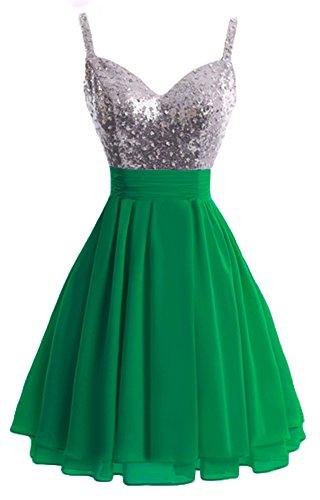 Bridal_Mall - Robe - Femme Vert - Vert
