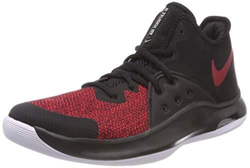 Nike Unisex-Erwachsene Air Versitile Iii Fitnessschuhe, Mehrfarbig (Black/Gym Red/White 006), 45 EU (Nike-herren-schuhe-indoor)