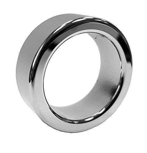 EROSPA® Extra dicker schwer Eichelring Penisring Edelstahl Cockring Glansring (26 mm)