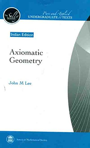 Axiomatic Geometry (AMS)
