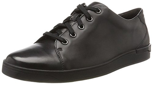 Clarks Herren Stanway Lace Brogues, Schwarz (Black Leather), 44.5 EU
