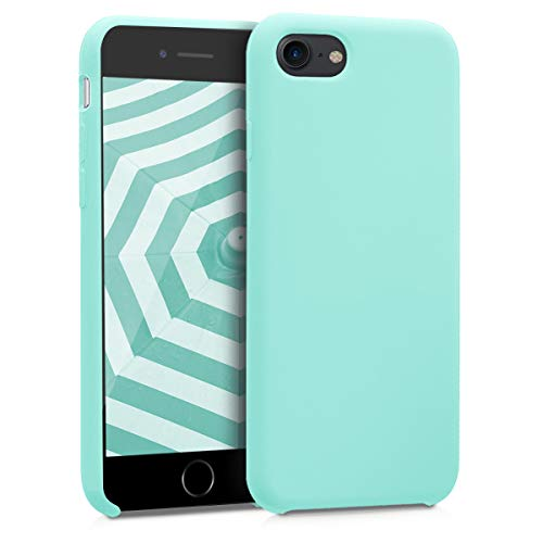 kwmobile Apple iPhone 7/8 Hülle - Handyhülle für Apple iPhone 7/8 - Handy Case in Mintgrün matt