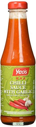 YEO's Chilisauce mit Knoblauch, 3er Pack (3 x 300 ml)