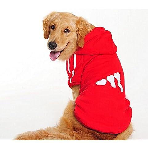 Grandi cane vestiti dell'animale domestico grande cane