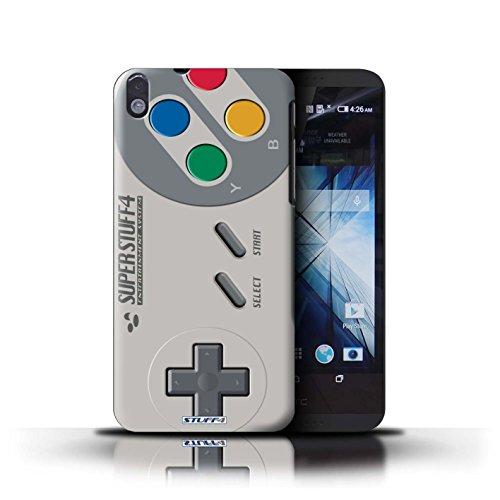 Stuff4 Hülle / Case für HTC Desire 816 / Super Nintendo Muster / Spielkonsolen Kollektion