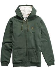 Etnies Kids Sherpa Fleece Zip Hoody Green