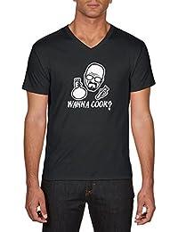 Touchlines Heisenberg Wanna Cook, T-Shirt Homme